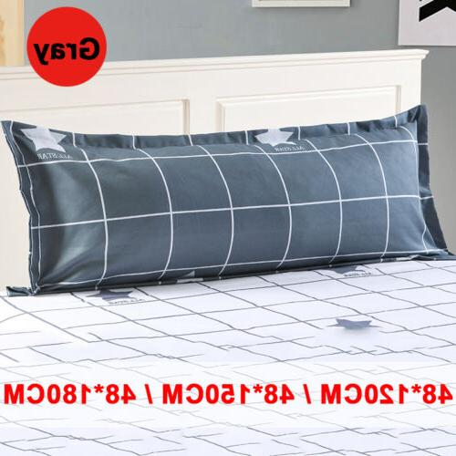 Grid Pattern Sofa Pillowcase
