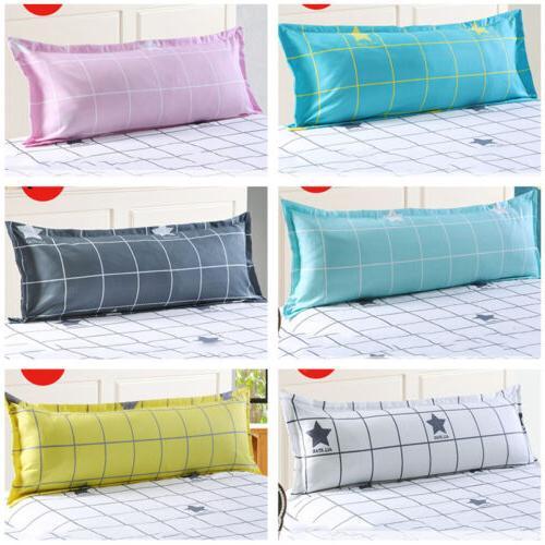 Grid Pattern Sofa Sleep Protector Case Pillowcase Pillow Cover