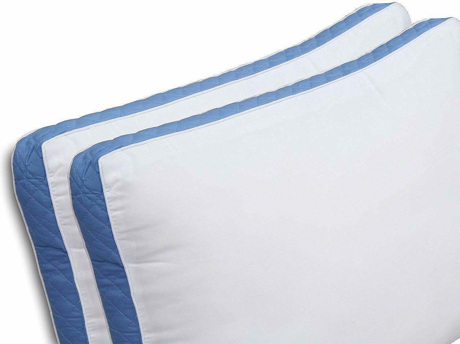 Utopia Gusseted Pillow 2 Pillows Side Back Sleepers