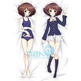 Home PillowCover? Japanese Girls Und Panzer Yukari Cute Loli