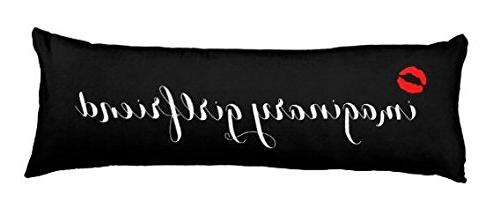 imaging girlfriend red lip pillow