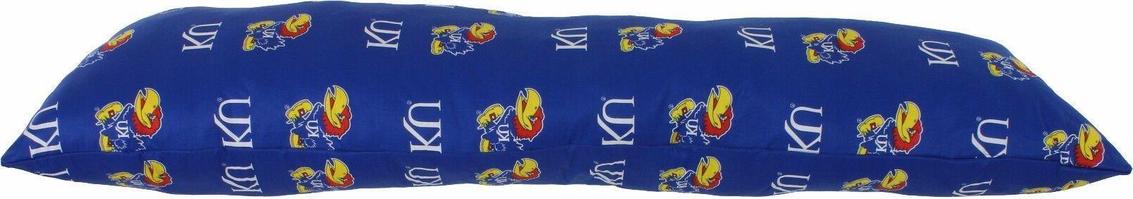 "Kansas Jayhawks Printed Pillow 60"""
