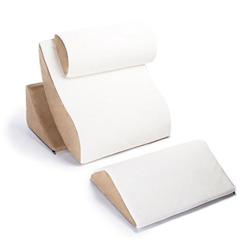 Avana Kind Bed Orthopedic Support Pillow Comfort System, Clo