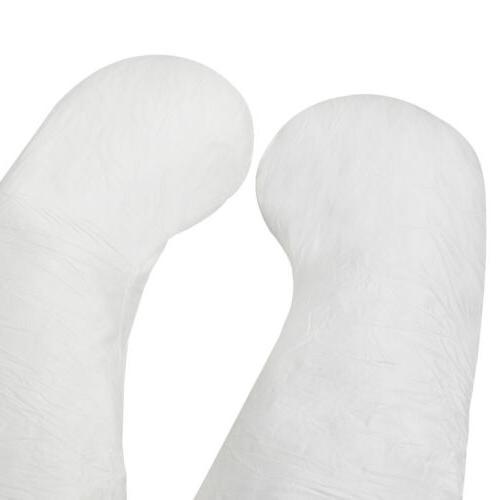 Large U Contoured Body Pregnancy Pillow Cozy Comfortable