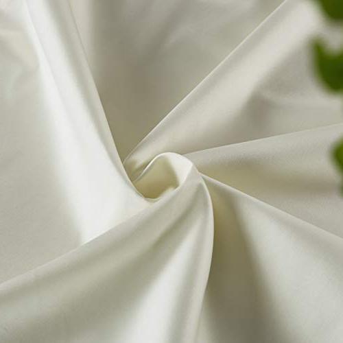 MoMA Top Layer Body Pillow Cover Pillowcase - Luxury 21 x Body Case - Cream Body Cover Long