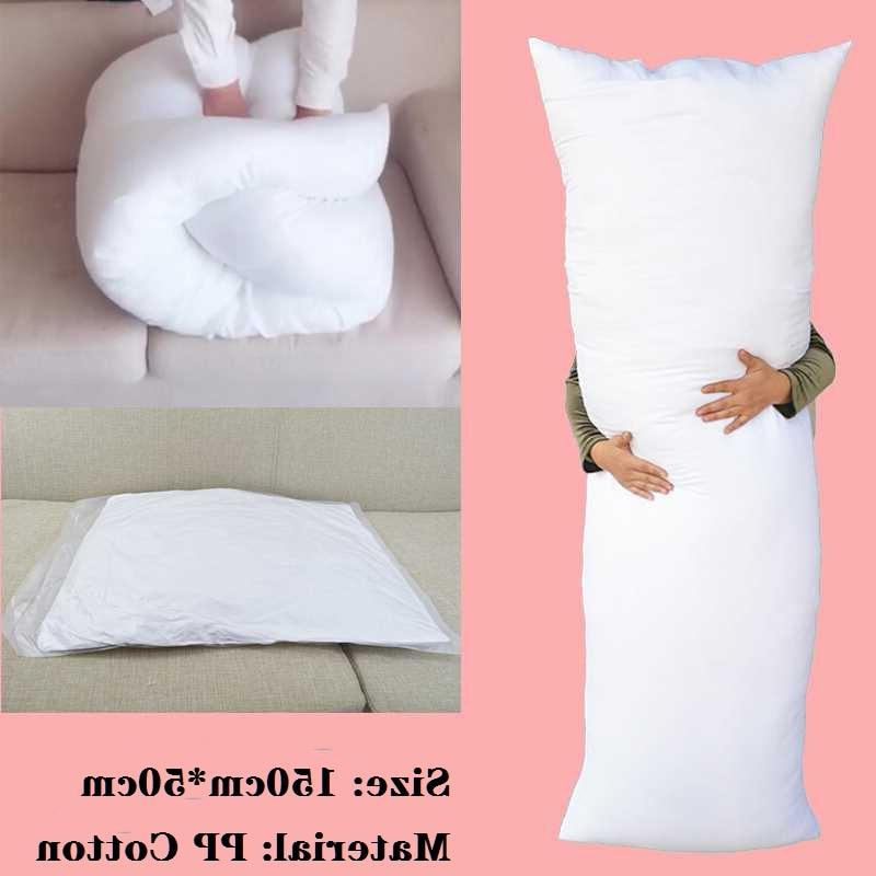 Long <font><b>Pillow</b></font> White <font><b>Body</b></font> Cushion Pad Rectangle Sleep Nap Home Bedroom Bedding Accessories 150 x