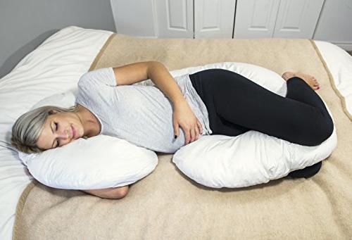Premium Quality Full Maternity Pillow Body For Pregnancy, Nursing by Utopia