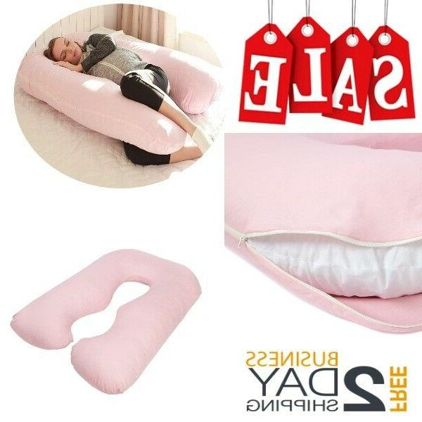 Maternity Pillows Cover For Pregnancy Sleeping Women Full Bo