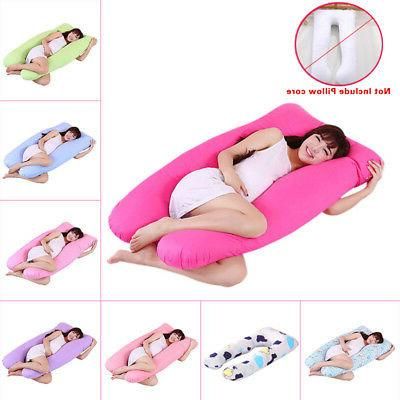 Maternity Pregnancy Body Sleeping Pillow Case Cover Sleep U