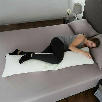 memory foam pillow charcoal infused