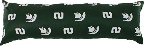 michigan state spartans printed pillow