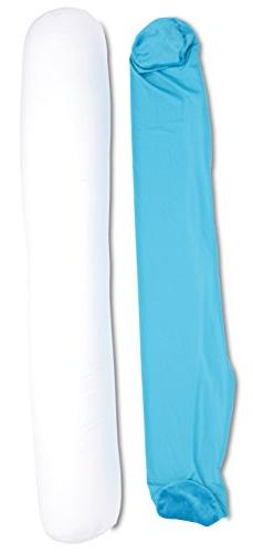 """Deluxe Comfort Microbead Body Pillow Replacement Cover, 47"""""""