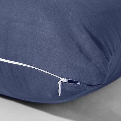 """Evolive Microfiber Pillow Cover Replacement 21""""x with Zipper Closure"""