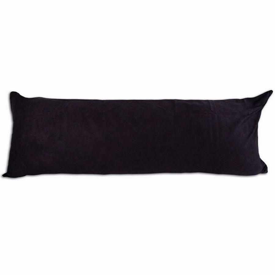 microsuede pillow cover pillowcase black