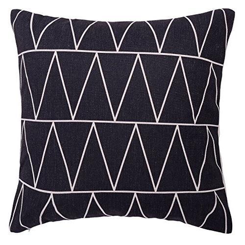 modern simple geometric pattern linen