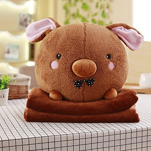 multifunctional cute plush stuffed animal