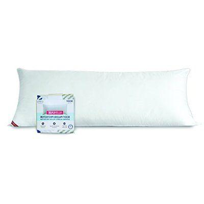 new body bed pillow soft cotton hypoallergenic