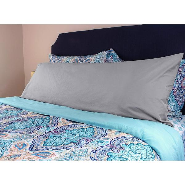 New Body Pillow Cover 100% Cotton 20 x 54 Inches Assorted