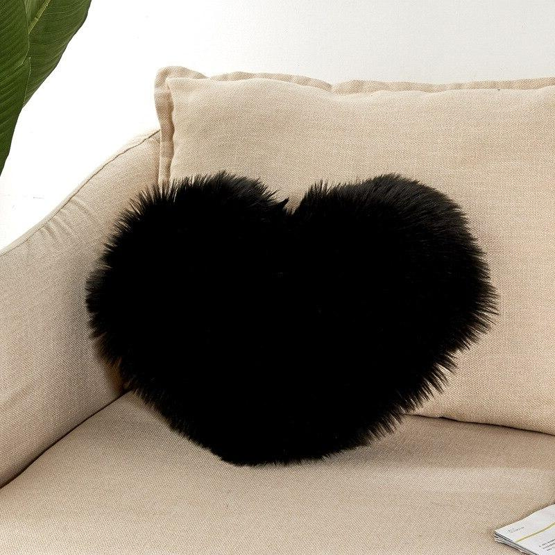 New Luxury Series Style Super <font><b>Fur</b></font> <font><b>Pillow</b></font> Washable Cushion for Bedroom Car