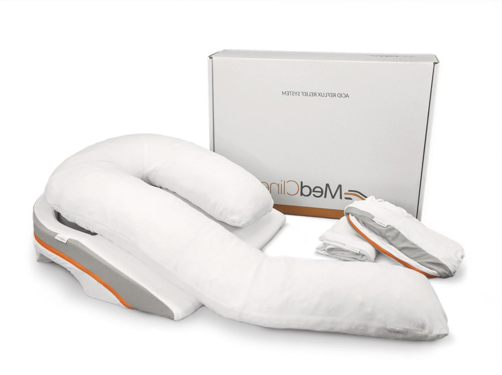 NEW MedCline Reflux Bed Wedge & Body Pillow System