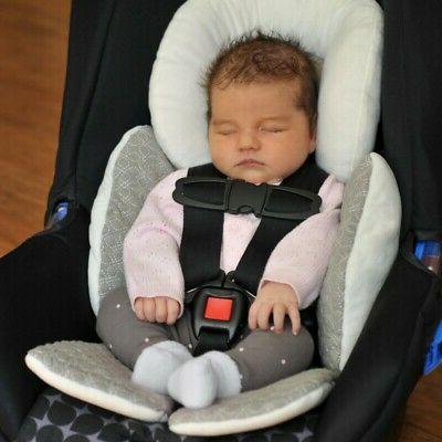 Newborn Baby Car Seat Stroller Cushion Pad Liner Head Suppor