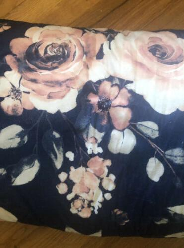 NWT Soft Floral Pillow