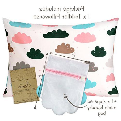 Organic 13 X 18 Infant, case Toddler Pillow Boy and Collection