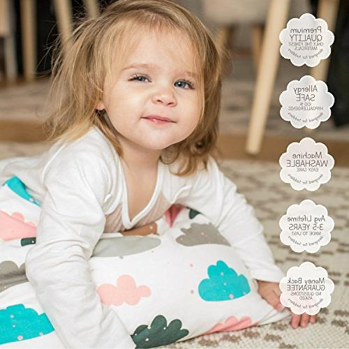 Organic Toddler Infant, Pillow case for Toddler Pillow Boy Girl, Collection