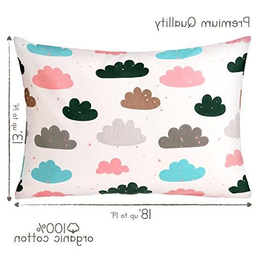 Organic X 18 by Cotton - Kids, Infant, case Boy Clouds Collection