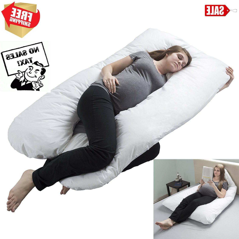 oversized comfort pregnancy maternity pillow u shape