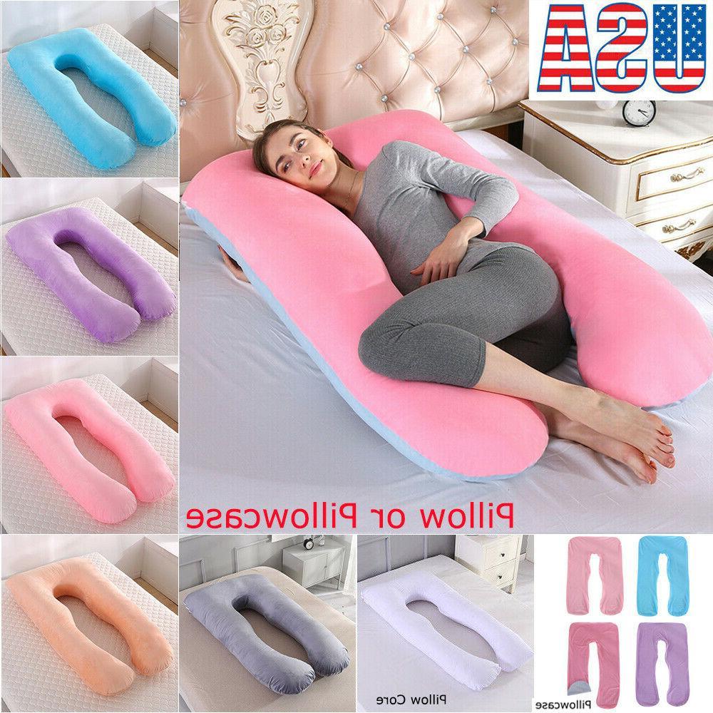oversized u shape pregnancy pillow maternity full