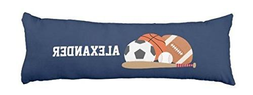 personalized name pillow cover