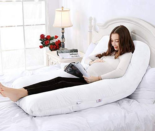 QUEEN 65in Body Pillow-U Shaped Pillow Pregnant