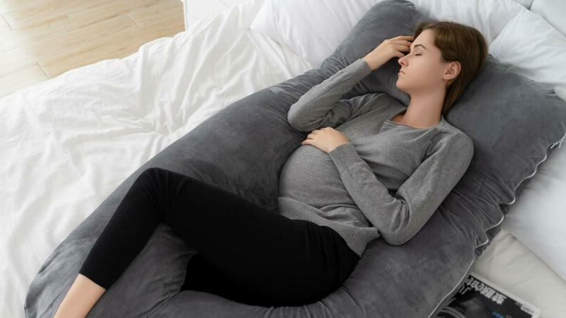 Queen Rose Pregnancy - Body Pillow U Back/N