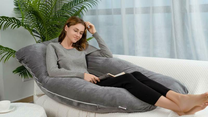 Queen Rose Pregnancy Pillow - Full Pillow U Shaped,Support