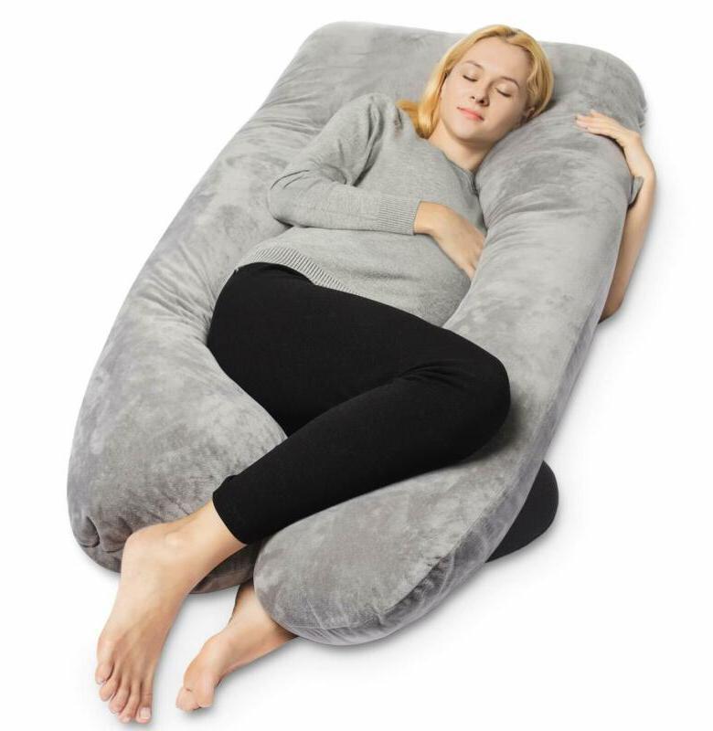 pregnancy pillow full body maternity pillow u