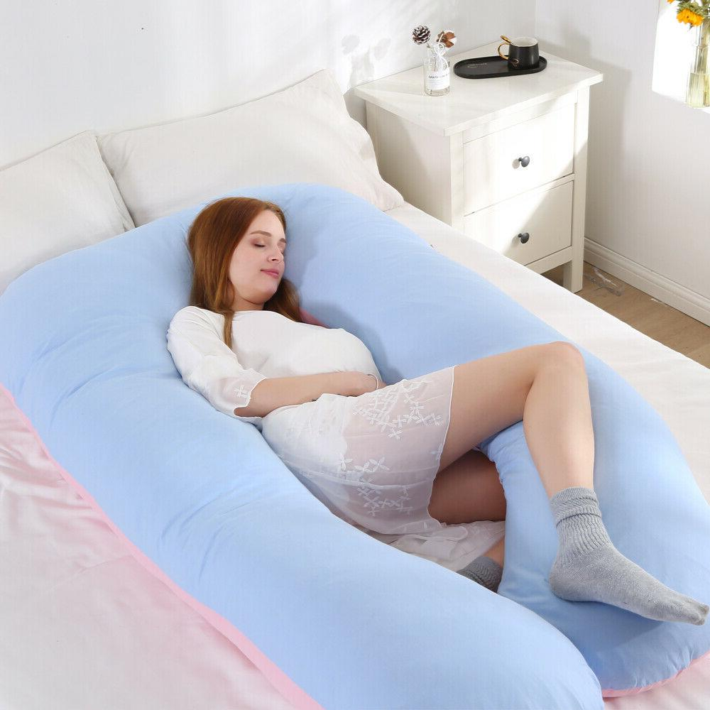 Pregnancy Pillow, Full Body U-Shaped Pillow for Pregnant Women