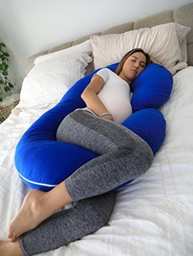 PharMeDoc Full Body Pillow for C Pillow w/100% Cotton Pillow