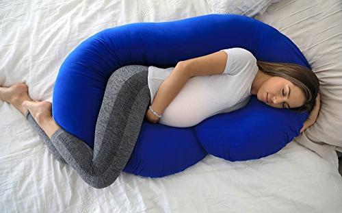 PharMeDoc Pillow Maternity for Women C Body Pillow w/100%