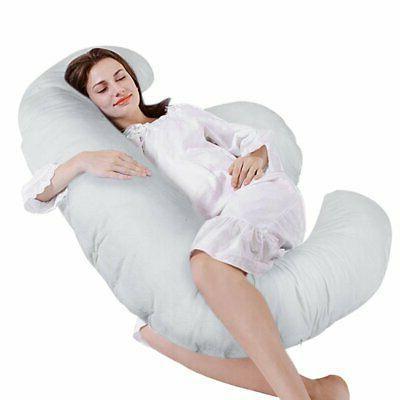 E Shaped Body Pregnancy Pillow Maternity Belt Support Full B