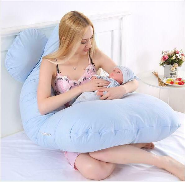 Pregnancy Pillow U Shaped Pillow Case Support
