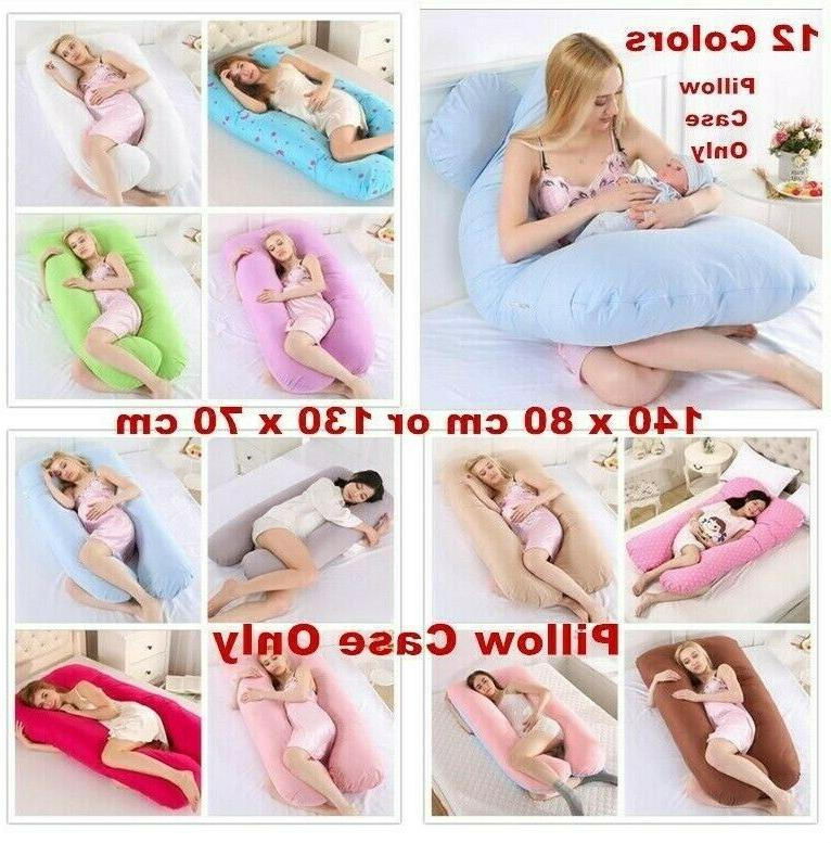 pregnancy pillow maternity u shaped cotton full