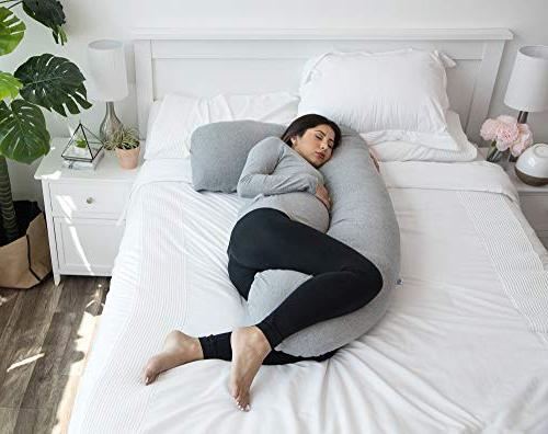 PharMeDoc Pregnancy Pillow, Full Pillow Maternity Support Extension - Support Back, for Pregnant