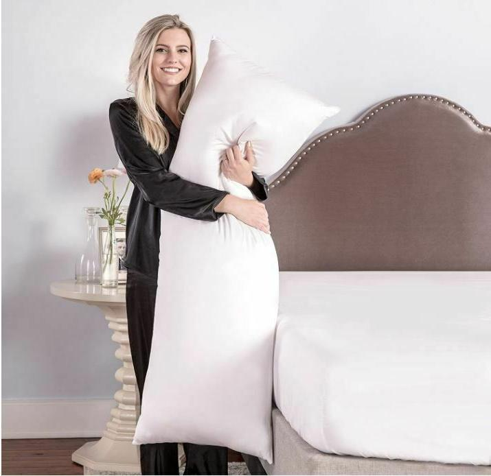 Premium Body Pillow White For Side Sleepers