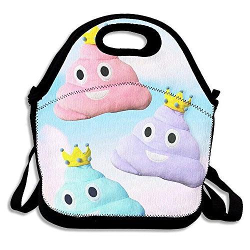 princess poo pillow lunch bag