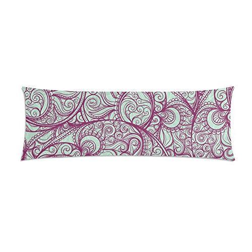 purple pattern pillowcase pillow cover