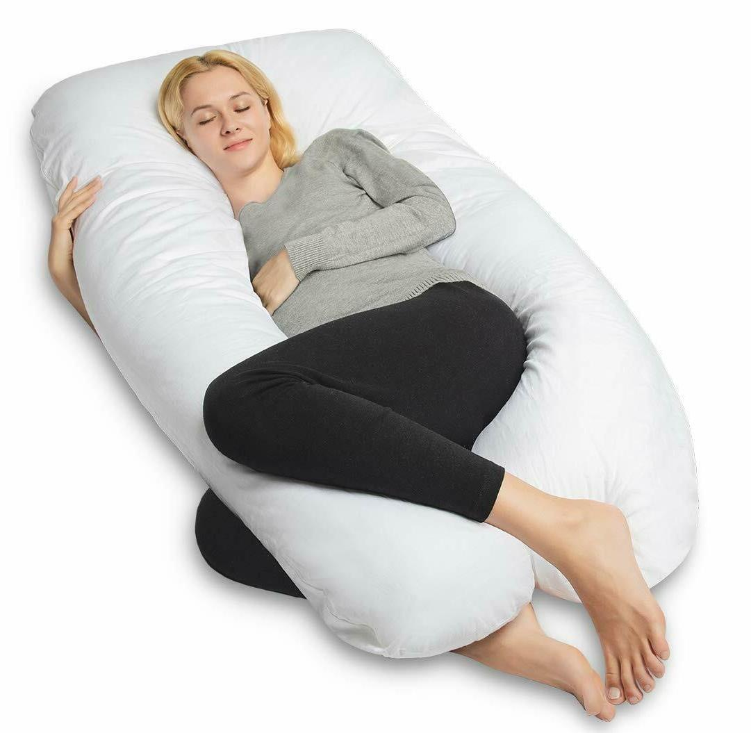 queen rose pregnancy pillow and u shape