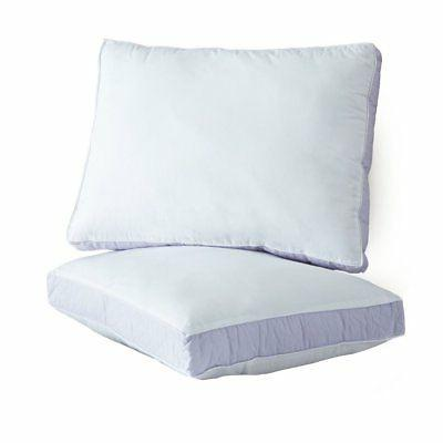 quilted sidewall density pillow extra firm twin