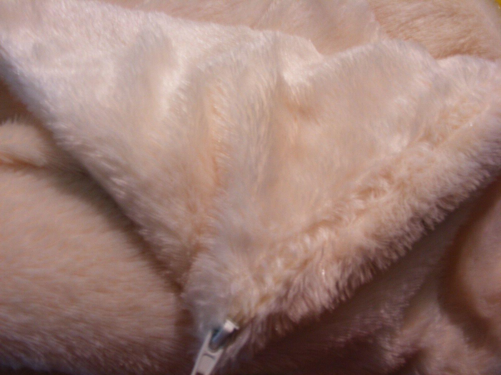 Room Essentials White Faux Fur Pillow Case - Soft