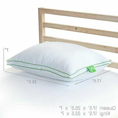 Sleep Ergonomically Designed Firm Pillow, Back